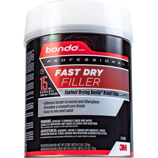 Bondo 174 Professional Fast Dry Filler 31582 Gallon 4 Per Case