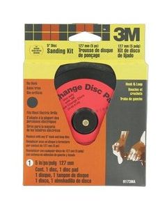 3M™ Hookit™ Sanding Kit 9173NA, 5 in