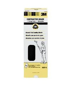 3M™ Drywall Sanding Sheets 10207-A, 4 3/16 in x 11 1/4 in, 80D grit