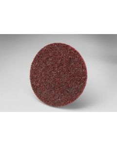 Scotch-Brite™ Roloc™ Surface Conditioning Disc TR, 3 in x NH A MED, 25 per inner 100 per case