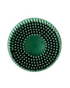 """Scotch-Brite™ Roloc™ Bristle Disc, 3"""" x 5/8 Tapered 80 Inner Carton"""