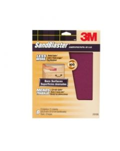 3M™ SandBlaster™ Bare Surfaces Sandpaper 20100-CC, 9 in x 11 in, 100 grit