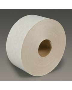 3M™ Light Duty Reinforced Water Activated Tape 6145 White, 72 mm x 450', Bulk