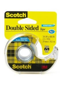 Scotch® Removable Double Sided Tape, 667 3/4 in x 400 in