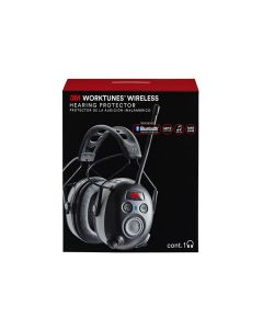 3M™ WorkTunes™ Wireless Hearing Protector with Bluetooth Technology, 90542-3DC, 3 eaches/case
