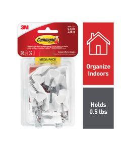 Command™ Small Wire Hooks Mega Pack 17067-MPES