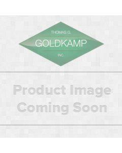 Command™ Modern Metal Medium Hook MR12-SS-ES, 1 Med Hook, 2 Med Strips (Foam)