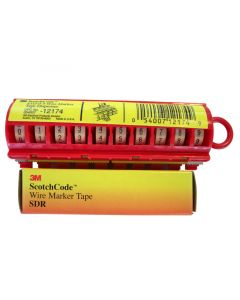 3M™ Wire Marker Tape Numbers SDR 80-90