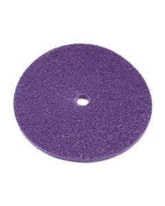Scotch-Brite™ HS Premium Blend and Finish Disc, 8 in x 1/2 in, A MED, 50 per case