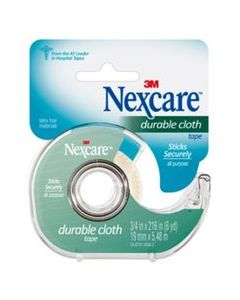Nexcare™ Durable Cloth First Aid Tape, 799, Dispenser, 3/4 inch x 6 yd