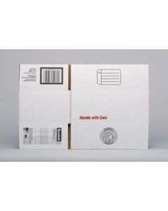 Scotch™ Mailing Boxes 8004, 9.5 in x 6 in x 3.75 in, White