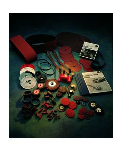 3M™ Cloth Belt 241E, 1/2 in x 24 in 220 XE-weight Inner Carton