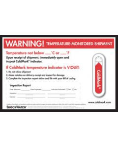 ColdMark Companion Labels - Small Format