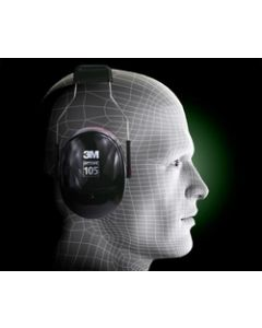 3M™ Peltor™ Optime™ 105 Over-the-Head Earmuff, Hearing Conservation H10A