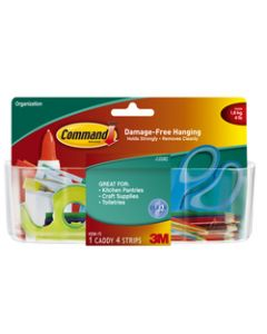Command™ Clear Large Caddy with Clear Strips HOM-15