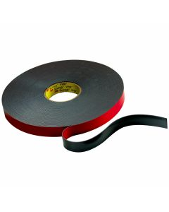 "3M™ VHB™ Flame Retardant Tape 5958FR Black, 1/2"" x 984 yd levelwound 40 mil"