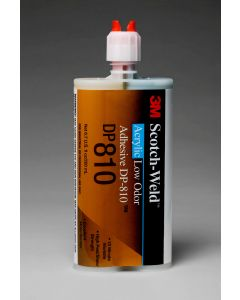 3M™ Scotch-Weld™ Low Odor Acrylic Adhesive DP810 Tan Duo-Pak, 200 mL