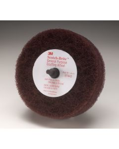 "Scotch-Brite™ Roloc™+ General Purpose Scuffing Wheel 07443, 4"" x 1-1/8"" A VFN"