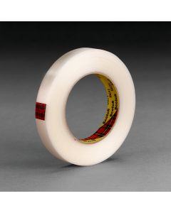 Scotch® Reinforced Strapping Tape 8651 Clear, 12 mm x 55 m