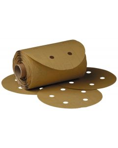 "3M™ Stikit™ Gold Paper D/F Disc Roll 216U, 5"" x NH 5 Holes P320 A-weight"