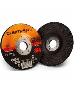 3M™ Cubitron™ II Cut and Grind Wheel T27, 82279, 4 1/2 in x 1/8 in x 7/8 in, 10 per inner, 20 per case