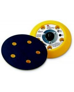 """3M™ Stikit™ Center Water Feed Disc Hand Pad 77749, 3"""" x 7/8"""" Soft"""