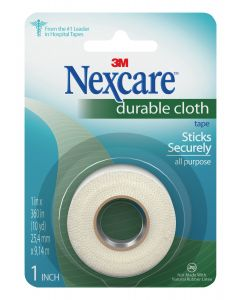 Nexcare™ Durable Cloth First Aid Tape, 791-1PK, 1 in x 10 yds