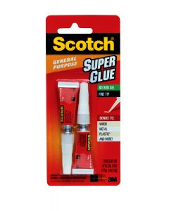 Scotch® Super Glue Gel AD112, .07 oz
