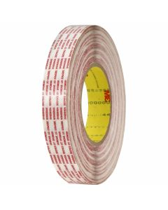 "3M™ Double Coated Tape Extended Liner 476XL Translucent, 1"" x 540 yd 6.0 mil Bulk"