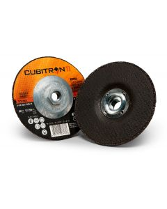 3M™ Cubitron™ II Cut and Grind Wheel T27, 82276, 4 in x 1/8 in x 3/8 in, 10 per inner, 20 per case