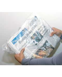 Low DensityFlip-loc™ Newspaper Bag on Header, D7145FT