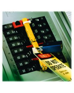 3M™ PanelSafe™ Lockout System PS-1009, 1 inch spacing, 9 slots