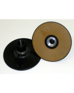 3M™ Roloc™ Disc Pad TS and TSM 28579, Extra Hard 4 in x 5/8-11 Internal