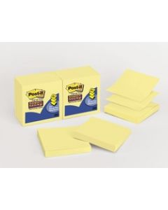 Post-it® Super Sticky Pop-up Notes R330-10SSCY, 3 in x 3 in Canary Yellow